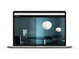 Pagina web de Bonet Roca, homepage.