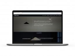 Pagina web de Bonet Roca, landing page.