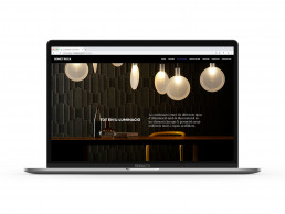 Pagina web de Bonet Roca, secció il·luminació.