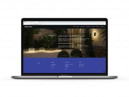 Pagina web de Bonet Roca, secció il·luminació exterior.