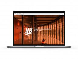 Pagina web de Neteges Bages, homepage.