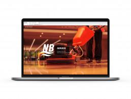 Pagina web de Neteges Bages, secció de serveis.