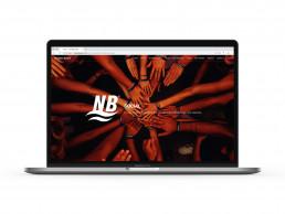 Pagina web de Neteges Bages, secció social.