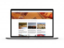 Pagina web de Neteges Bages, secció de blog i noticies.
